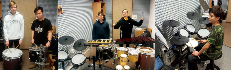 Komorní hra na bicí školní rok 2019-2020