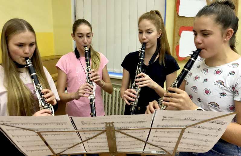 Soubor klarinety 2019-2020