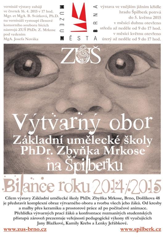 Plakát VO ŠPILBERK 2015