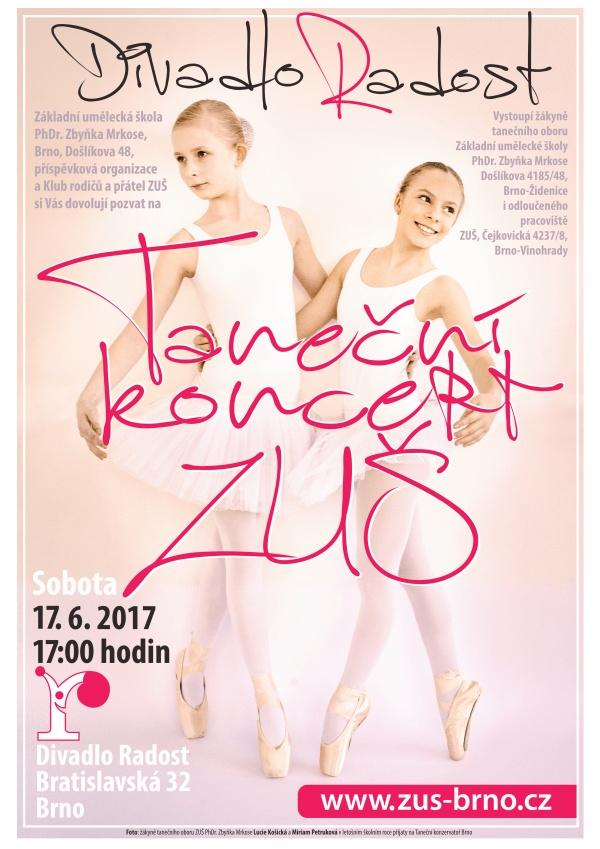 Taneční koncert 17 na posílání